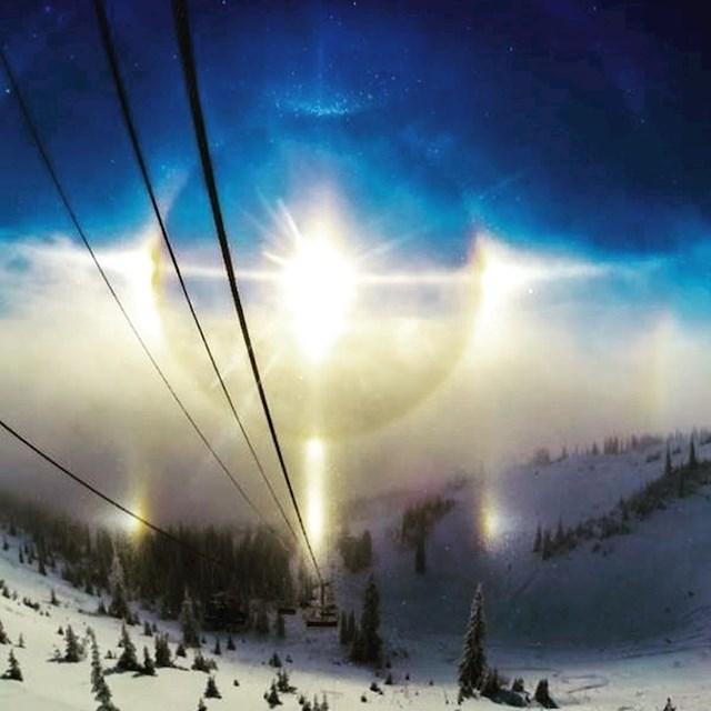 Leća na kameri napravila je efekt koji izgleda kao da izvanzemaljci stižu na Zemlju...