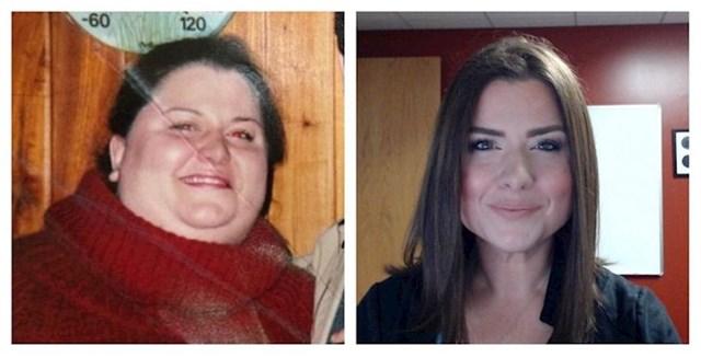 Biste li ikad rekli da je ovo ista osoba? Skinula je 85 kg!