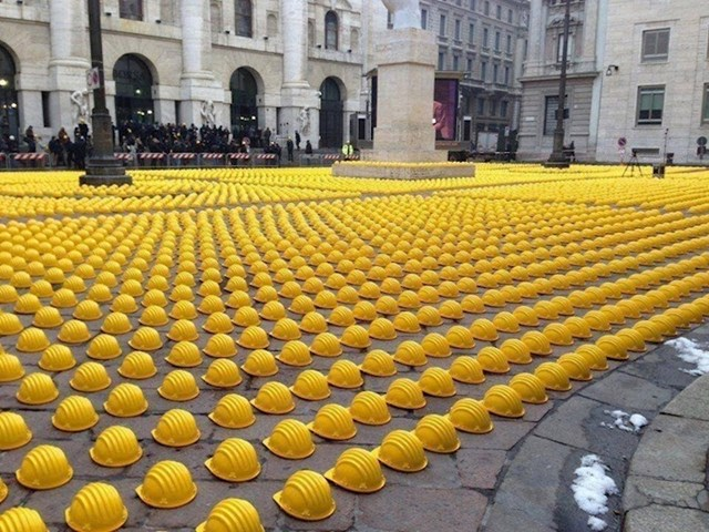 Neobičan prosvjed radnika u Italiji