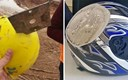 Ljudi su podijelili šokantne fotografije koje dokazuju da kacige zaista spašavaju živote
