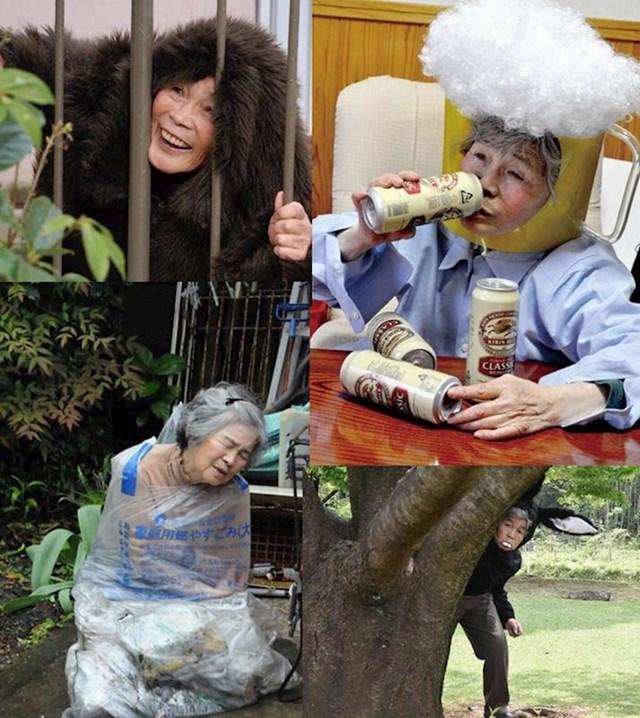 Baka iz Japana počela se baviti smiješnim fotografijama kako bi pobijedila usamljenost.