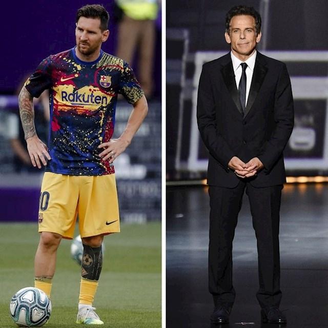Lionel Messi i Ben Stiller - 170 cm