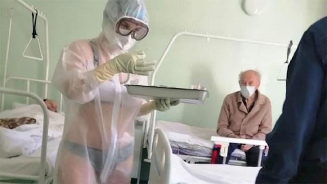 Fotografija je slikana u bolnici u ruskom gradu Tula: