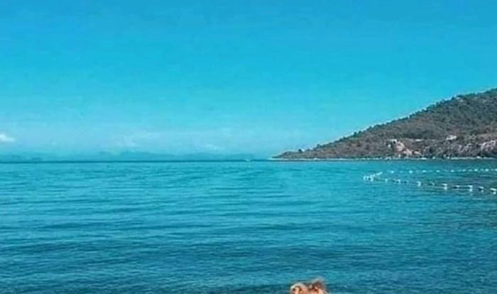 Ljude je na plaži dočekao jedan od najčudnijih prizora ikad, pogledajte što je netko slikao