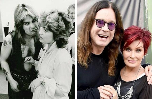 Ozzy Osbourne & Sharon Osbourne