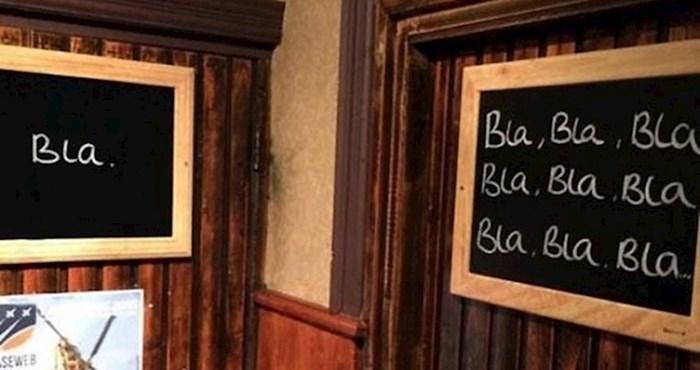 15 znakova na ulazima u WC koji na smiješan način prikazuju razliku između žena i muškaraca