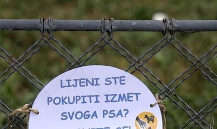 """""""Odgovorni šetači"""" ostavili su poruku drugim vlasnicima pasa, evo što su im poručili"""