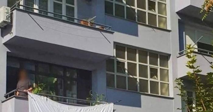 Dalmatinci se nisu mogli prestati smijati kad su vidjeli što nekome visi na balkonu, pogledajte što su slikali