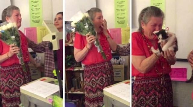 Učenici su joj poklonili nove mačiće