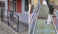 Ljudi koji su radili ove rampe za invalide obavili su katastrofalan posao, prolaznici ne mogu vjerovati svojim očima