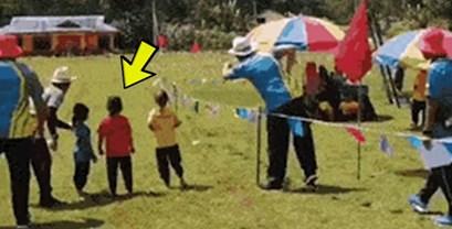 Dijete je potpuno krivo shvatilo kako funkcioniraju utrke sa štafetama, pogledajte što je nasmijalo okupljene