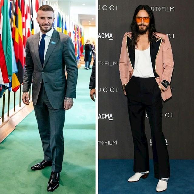 David Beckham i Jared Leto - 180 cm