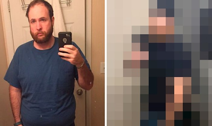 Lik je fotkama pokazao koliko se promijenio otkako je prije 4 godine prestao piti