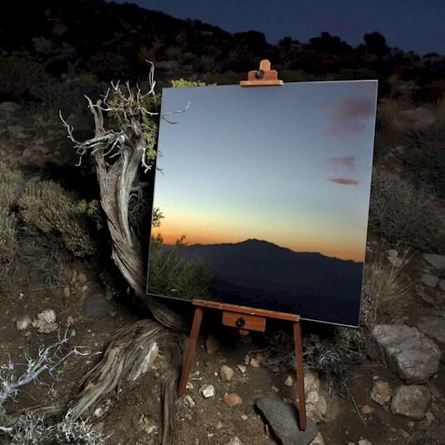 Što se dogodi kad u pustinji ostaviš ogledalo...