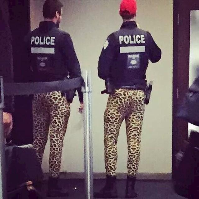 Ovi policajci su odlučili obući malo drugačiju uniformu...