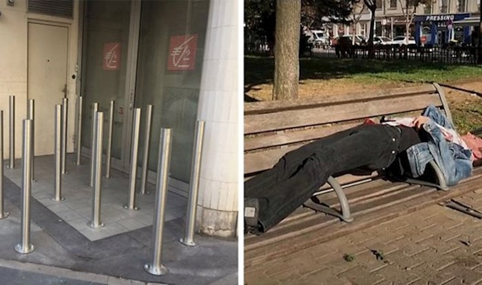 20 brutalnih načina na koje se neki gradovi bore protiv beskućnika koji spavaju na javnim površinama