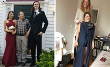 Zanimljive slike koje otkrivaju što se dogodi kad se susretnu jako visoke i niske osobe