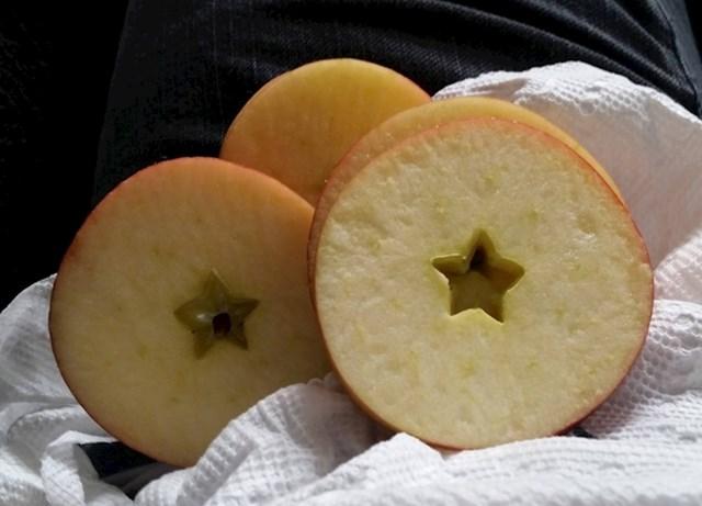 """""""Kad sam izrezala jabuku, vidjela sam da u sebi ima zvijezdu."""""""