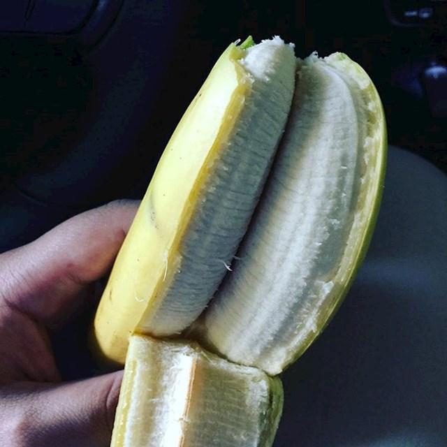 Jeste li ikad vidjeli duplu bananu?