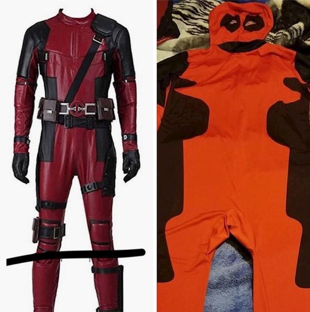 """""""Moj dečko je naručio Deadpool kostim s interneta. Cijeli dan sam se smijala."""""""
