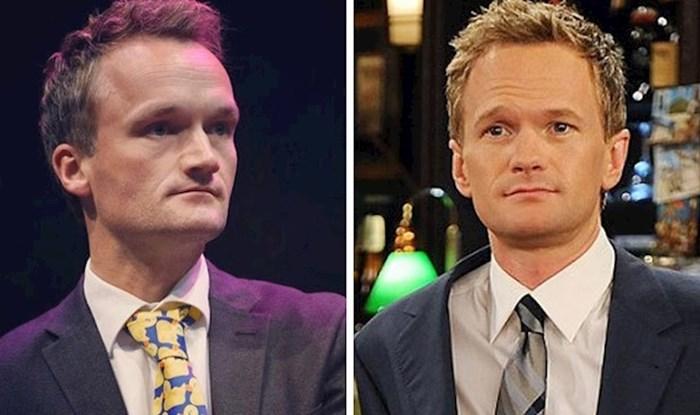 Netko objavljuje slike poznatih osoba i njihovih dvojnika, sličnosti su zapanjujuće