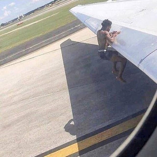 Kako vježbati na krilu aviona