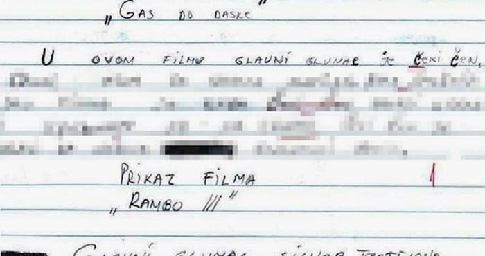 Djeca su morala opisati dva filma, ovaj učenik je nasmijao učiteljicu svojim greškama