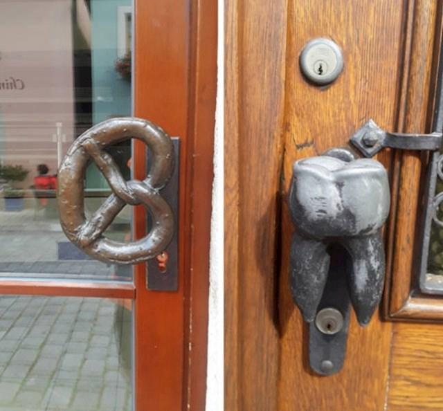 Na ovim vratima se odmah vidi što je s druge strane. Genijalna ideja!
