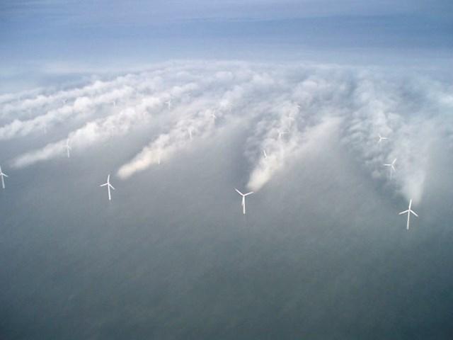 Što se dogodi kad se magla spusti na polje s vjetrenjačama...