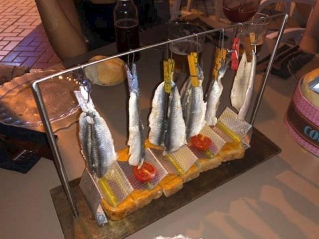 Ovakvo serviranje ribe sigurno još niste vidjeli.