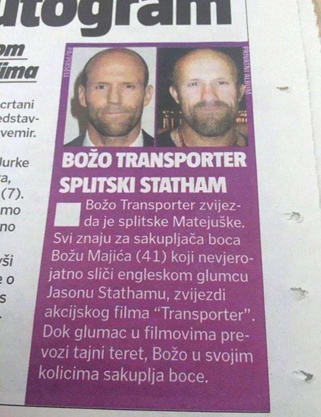 Hrvatski Jason Statham