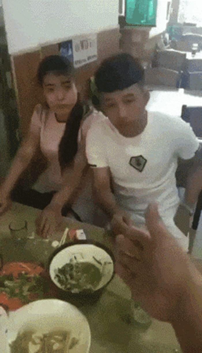 Nešto ovdje smrdi: Trebali su platiti hranu u restoranu, a onda je djevojka izvela svoj trik