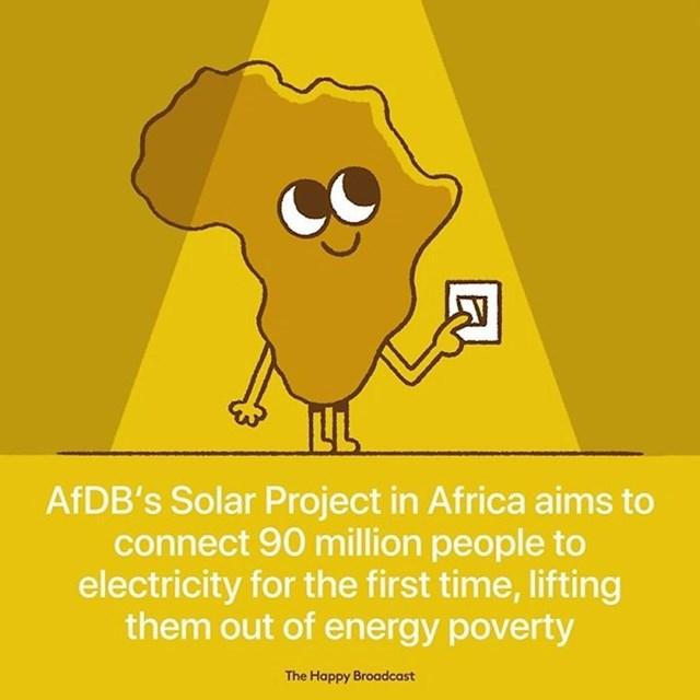 AFDB solarni projekt u Africi ima cilj povezati 90 milijuna ljudi na struju po prvi puta.