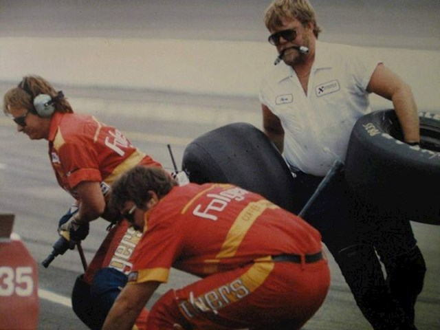 """""""Moj tata je radio na NASCAR utrkama. Brzinsko mijenjanje guma je bio jedan od zadataka."""""""