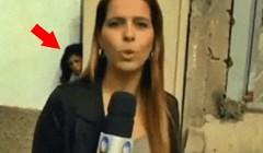 Živčana žena se osvetila TV ekipi koja je snimala reportažu ispred njene kuće
