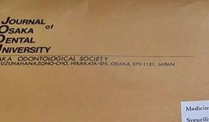 Zagrebačkom medicinskom fakultetu stigla je pošta iz Japana, nešto tu nije u redu