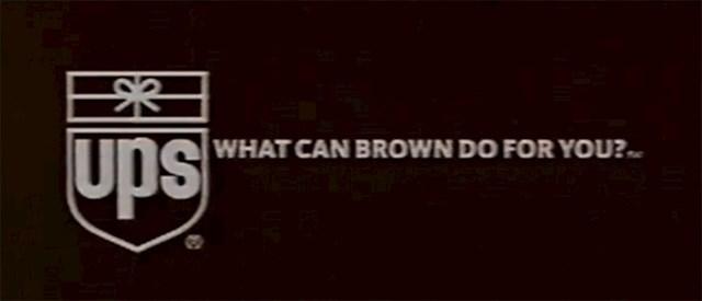 """#18 """"Što Brown (smeđi) mogu učiniti za tebe?"""""""