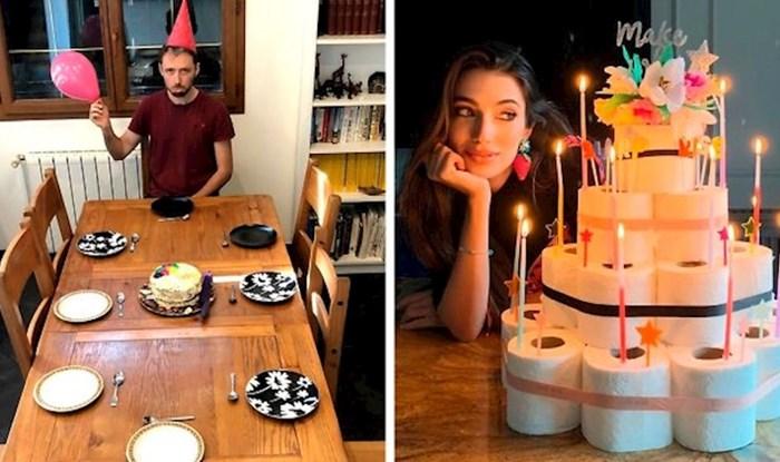Ljudi su slikali kako su proslavili rođendan u vrijeme koronavirusa