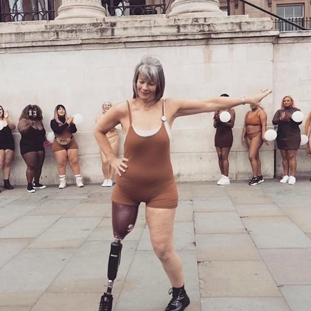 Možda više nema jednu nogu, no to joj nije bilo opravdanje da prestane vježbati.