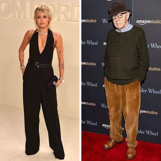 Miley Cyrus i Woody Allen - 165 cm