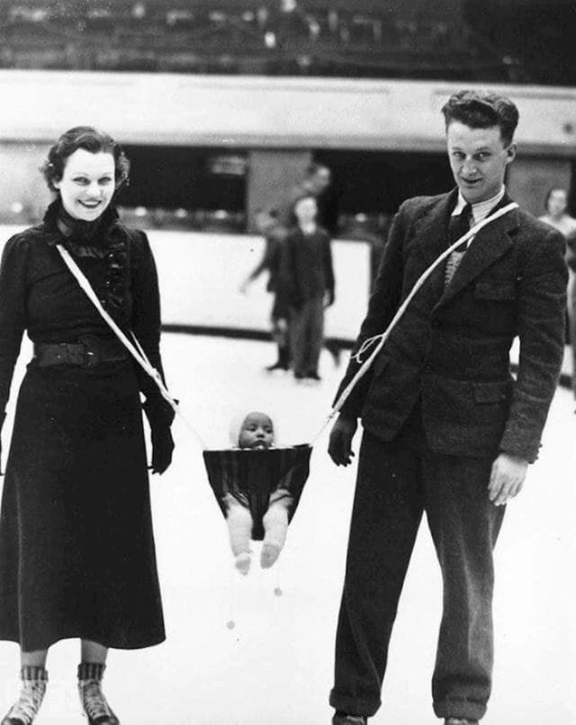 Par je s bebom išao na klizanje, 1937. godina