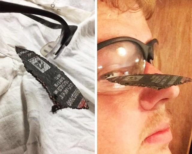 Evo zbog čega je dobro nositi zaštitne naočale.