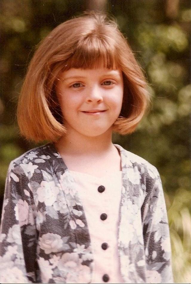 """""""Ovdje sam imala 6 godina, no na neki način sam izgledala kao da se približavam svojim četrdesetima."""""""