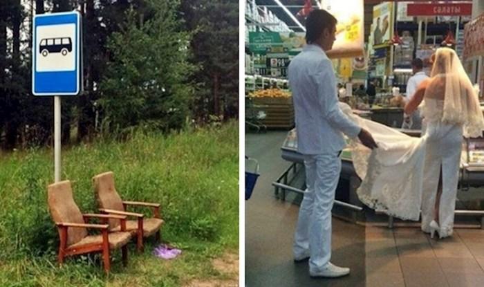 20 smiješnih slika koje prikazuju bizarnu stranu života u Rusiji