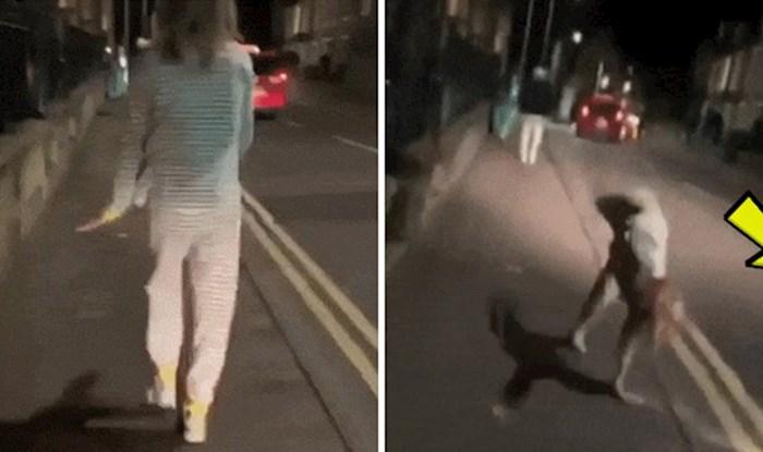 """Djevojka je izvodila svoje """"akrobacije"""" kraj ceste, tek je kasnije shvatila koliko je sreće imala"""