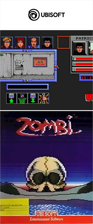 "Ubisoft igrica ""Zombi"" (1986.)"