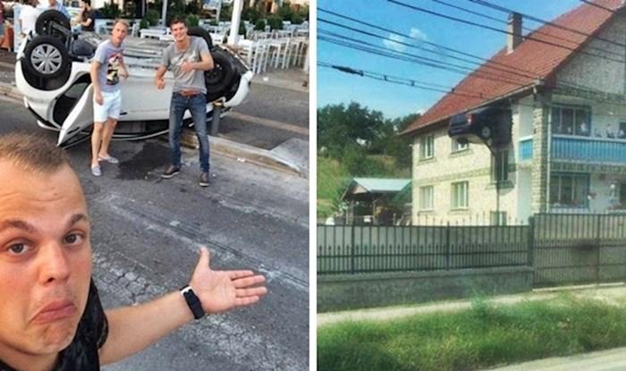 Ljudi su slikali najčudnije prometne nezgode koje izgledaju kao scene iz filmova