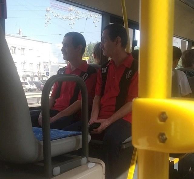 Ok, jesu li ovo dvije različite osobe ili klonovi?!