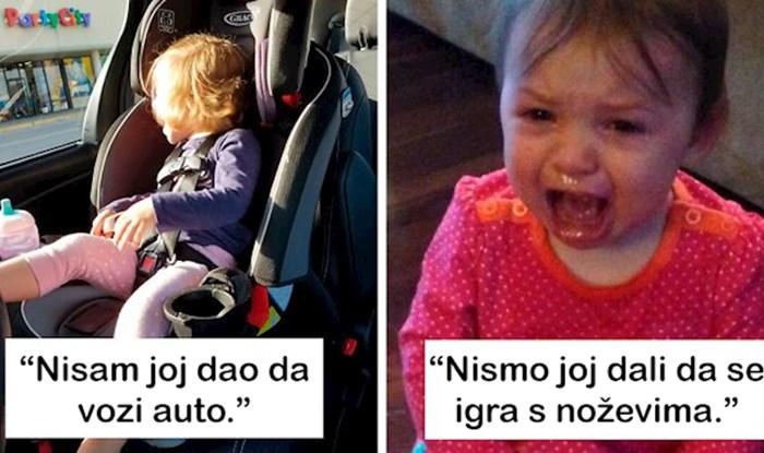 15 najsmješnijih razloga zbog kojih su se mala djeca rasplakala