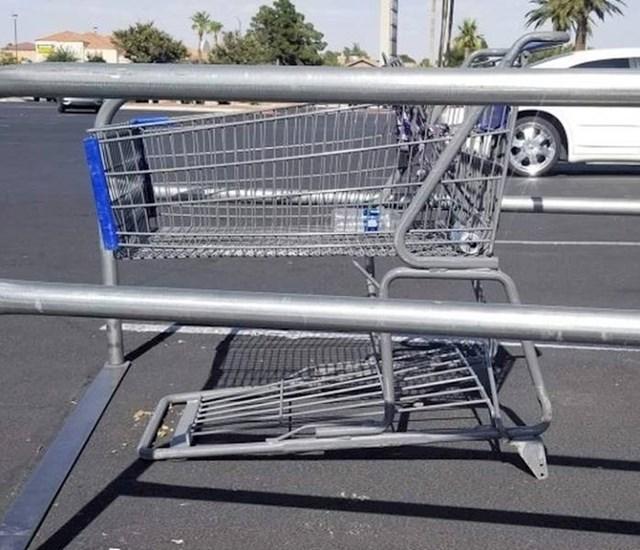 Tko krade kotačiće na kolicima za kupovinu?!